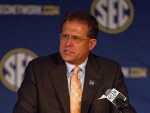 Gus Malzahn SEC Media Day