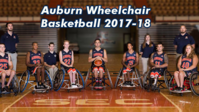 auburn wheelchair basketball